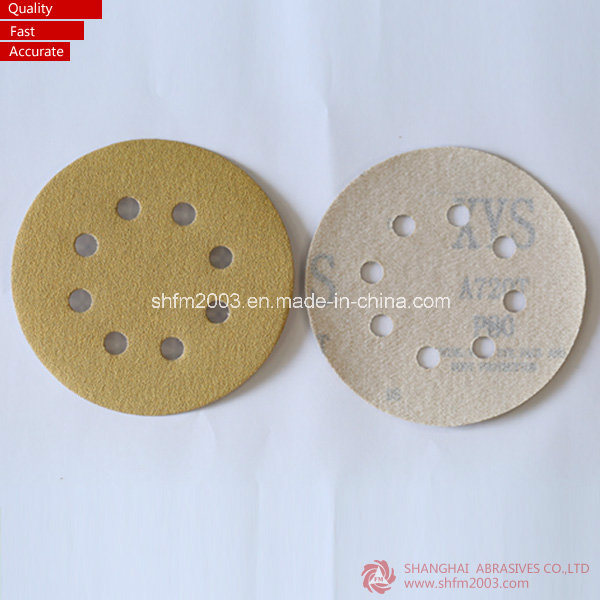 150mm, 6 Holes Aluminum Oxide Sand Hook & Loop Discs (High Quality)