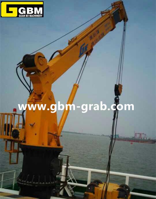 Hydraulic Telescopic Boom Marine Crane