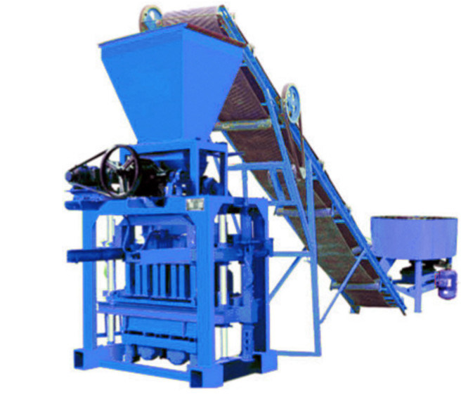 Qtj4-40A Cheap Small Business Block Making Machine