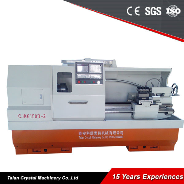 Chinese Metal Lathe CNC Horizontal Lathe Machine (CJK6150B-2)