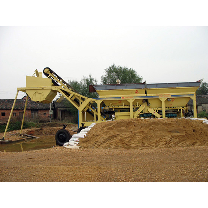 Ywcb120 Mobile Stabilized Soil Mixing Plant