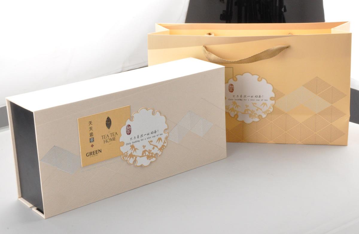Paper Tea Box and Bag