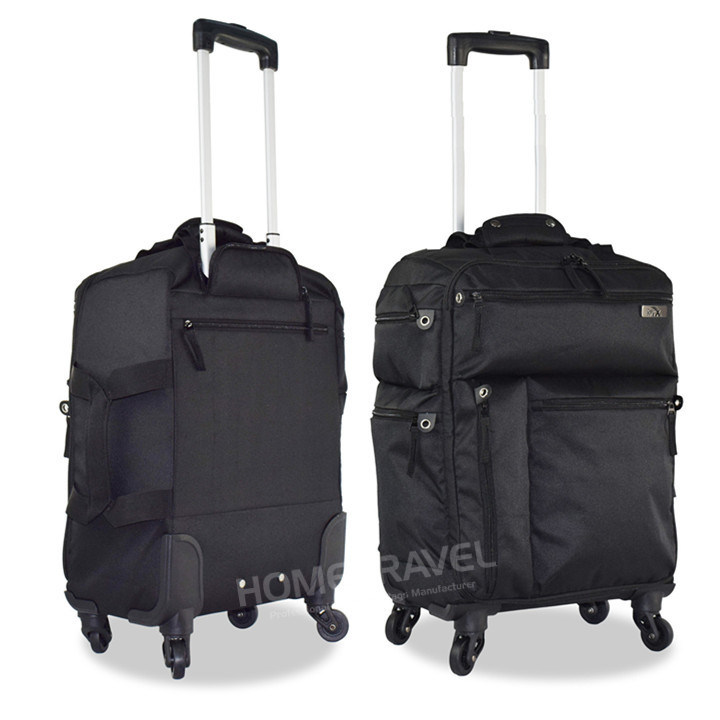 2017 Stylish 4 Wheel Cabin Size Trolley Bag