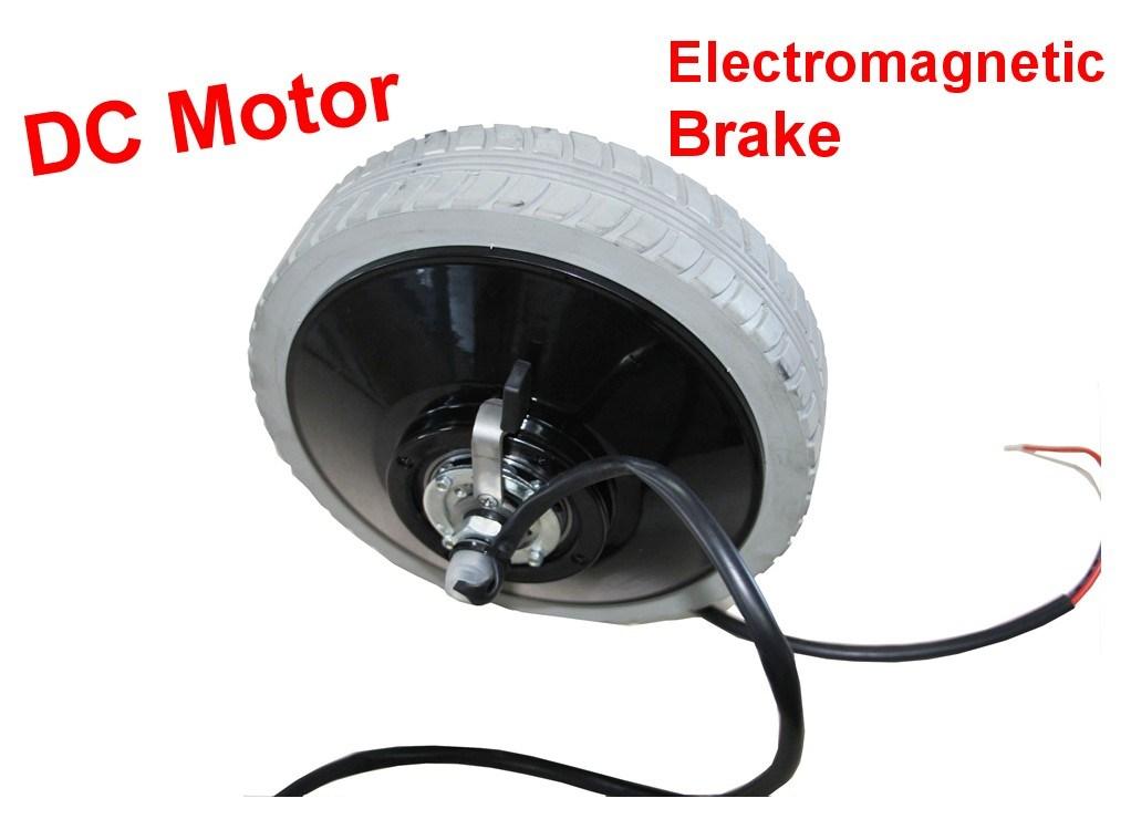China Wheelchair Motor Dc Motor With Electromagnetic Brake