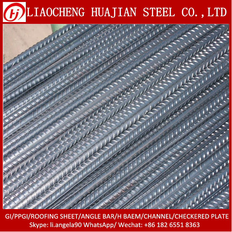 Hot Rolled Deformed Reinforcing Steel Rebars for Building