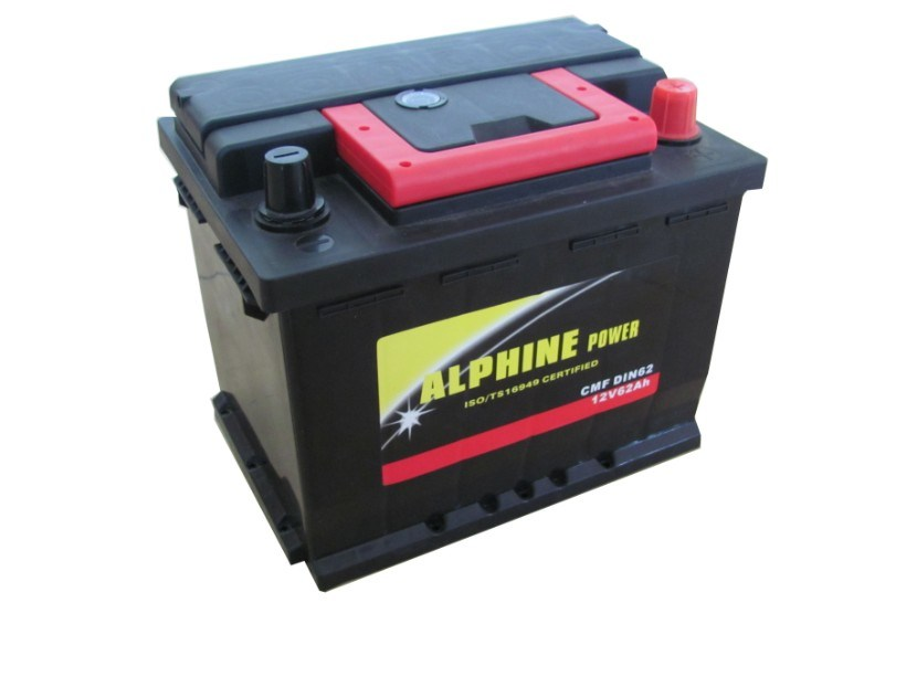Wet Battery/DIN62 12V62ah Mf Storage Battery