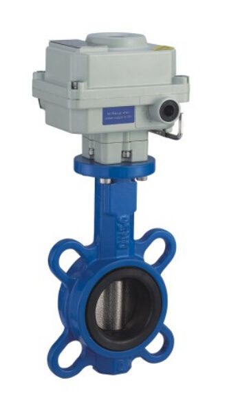 Ex Wafer Motorized Butterfly Valve with Soft Seat