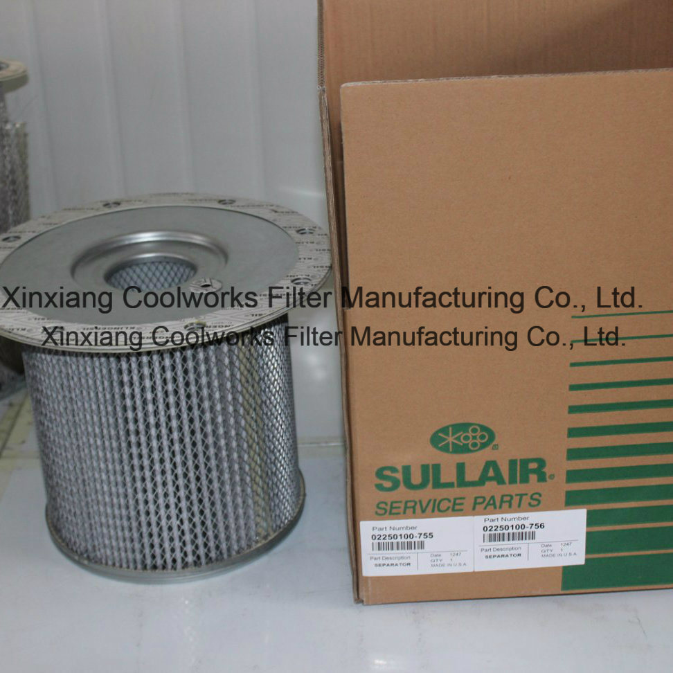 Oil Separator 250034-085 / 02250048-734 for Sullair Air Compressor Ls Series