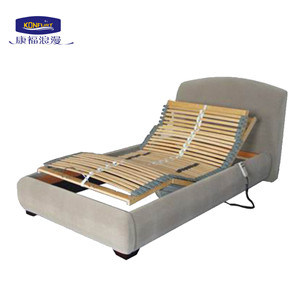 Adjustable Bed with Bed Surrounding