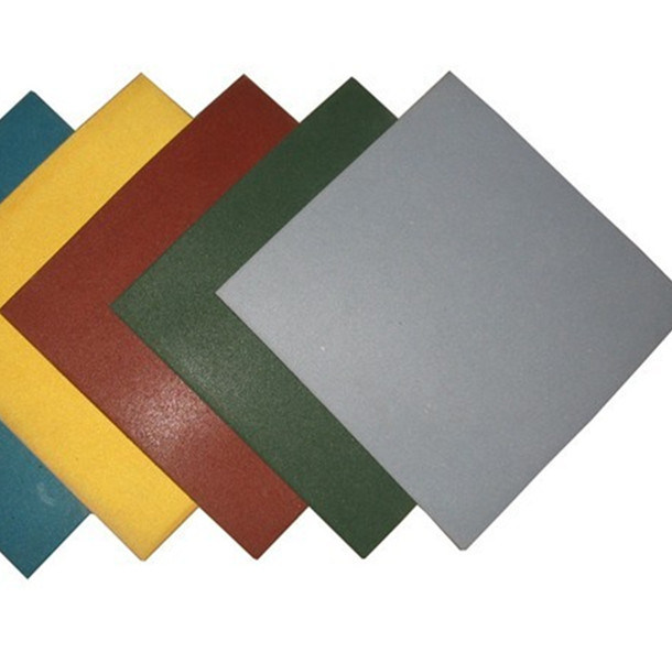 China Interlocking Rubber Tiles Colorful Rubber Paver