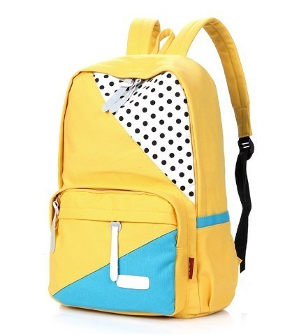 Cartoon 600d School Bag for Student with Customized Logo (YSBP00-0001)