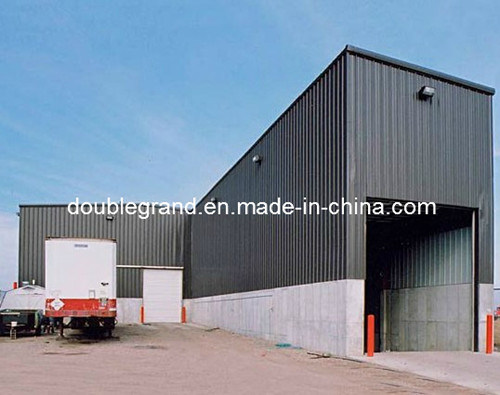 Steel Structure Workshop with Corrugated Sheet
