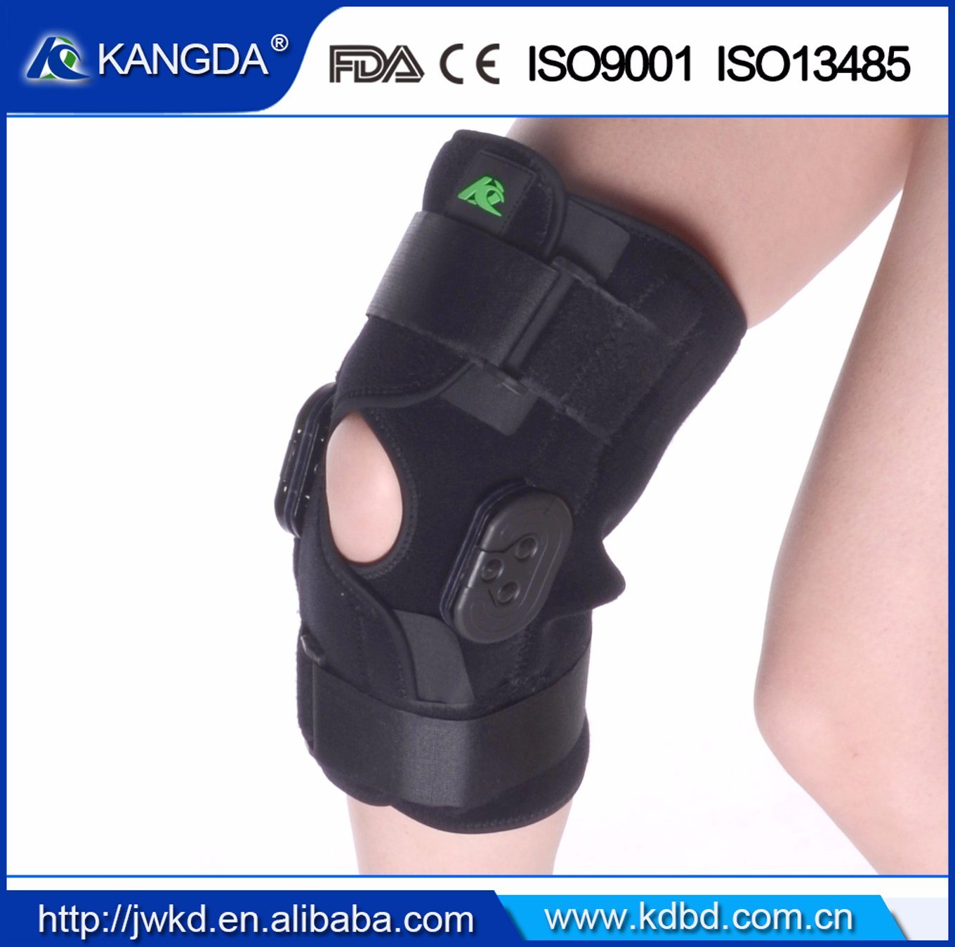 Adjustable Knee Orthosis Brace Knee Support Brace Manufacturer Ce FDA ISO