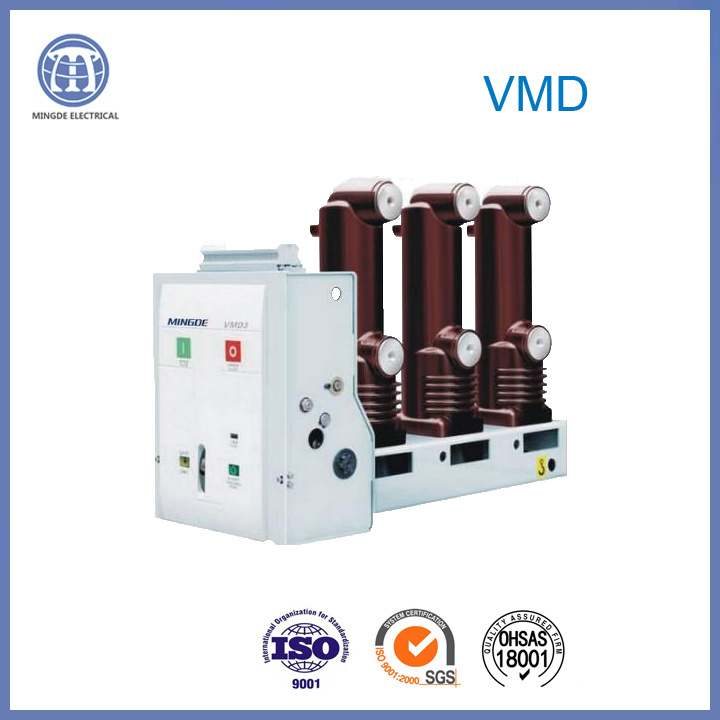 Side Mounted 1600A Vmd Embedded Poles Circuit Breaker 17.5kv