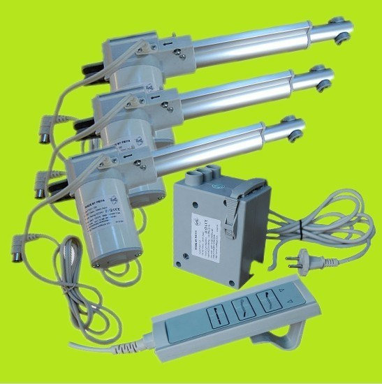 12V or 24V DC Electric Linear Actuator for Furniture, Chair, Sofa, Hospital Beds