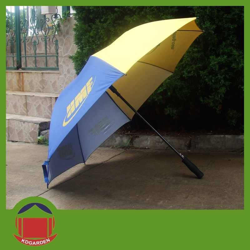 One Color Printed Golf Umbrella for Promotion