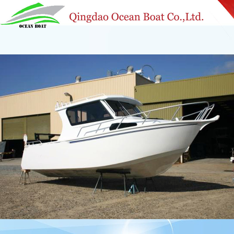 7.5m 25FT Lifestyle Europe Design Professional Aluminum Sightseeing Fishing Boat