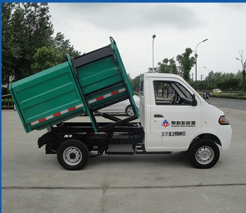Electric Automatic Loading & Dumping Garbage Truck