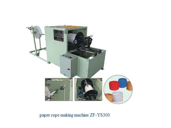 Paper Rope Making Machine (ZD-YS300)