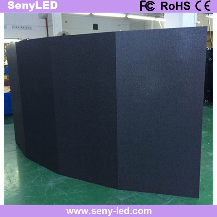 Curved Die Casting Advertising Panel LED Display (Indoor Outdoor P3.91mm/ P4.81mm)