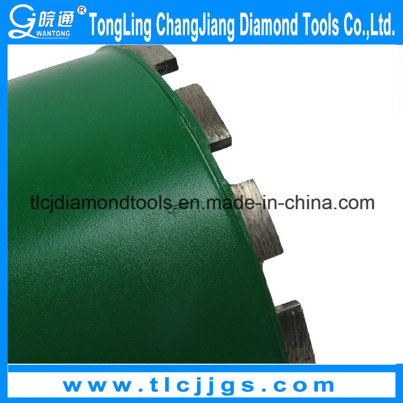 Laser Welded Diamond Core Drilling Bit for Asphalt