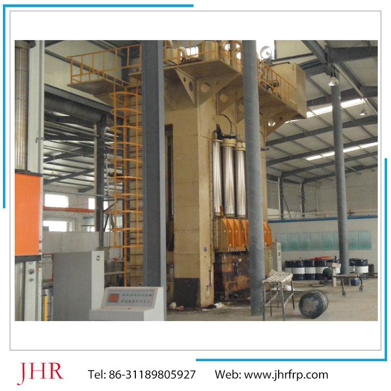 Four Column Hydraulic SMC Hot Press Machine 400 Tons