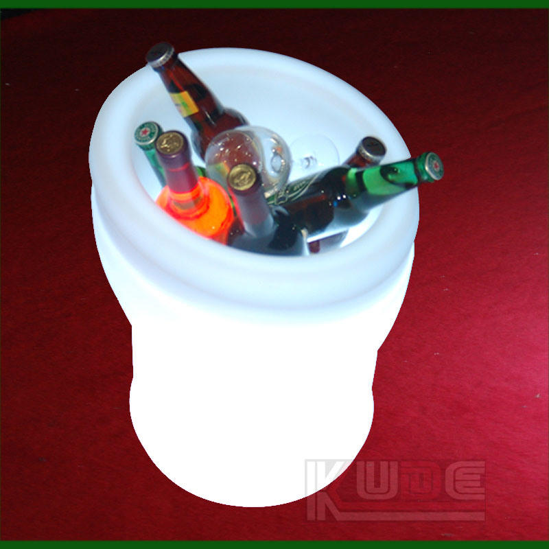 High Bright Drinkware Gadget LED Ice Bucket Plastic Drinkware