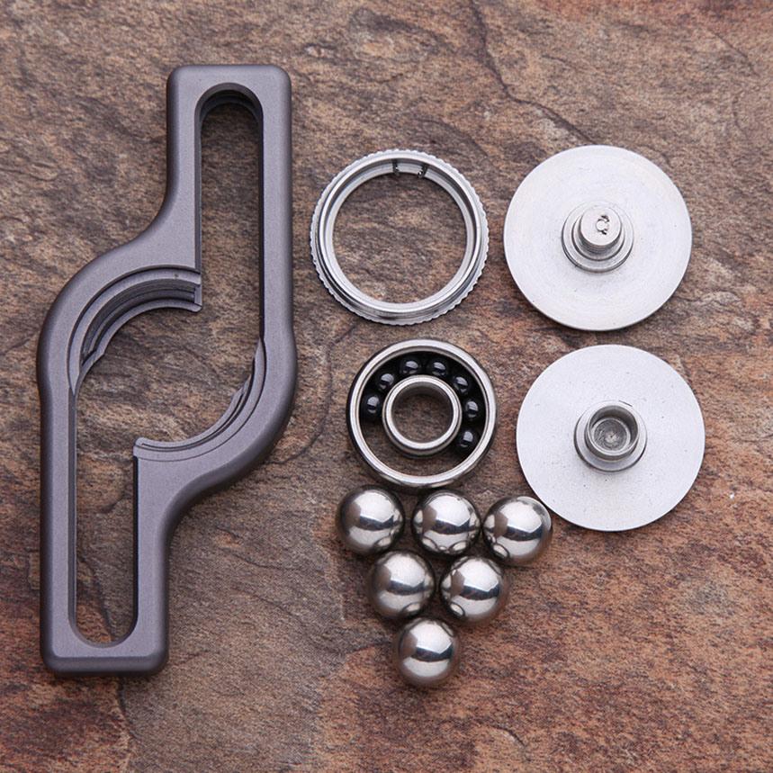 Factory Wholesales Metal Alloy Bolt Fidget Hand Spinner