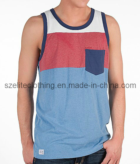 Mixed Color Quick Dry Blank Tank Tops (ELTMBJ-83)