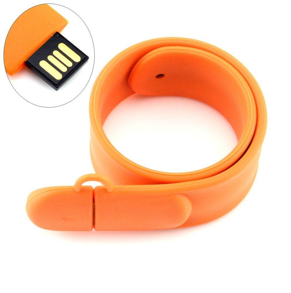 Slap Bracelet Shaped 8GB USB Flash Drive