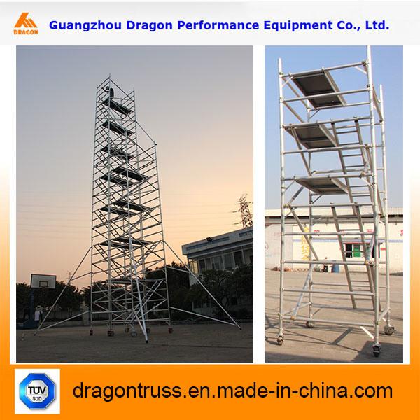 Portable Construction Aluminum Mobile Scaffolding (SDW)
