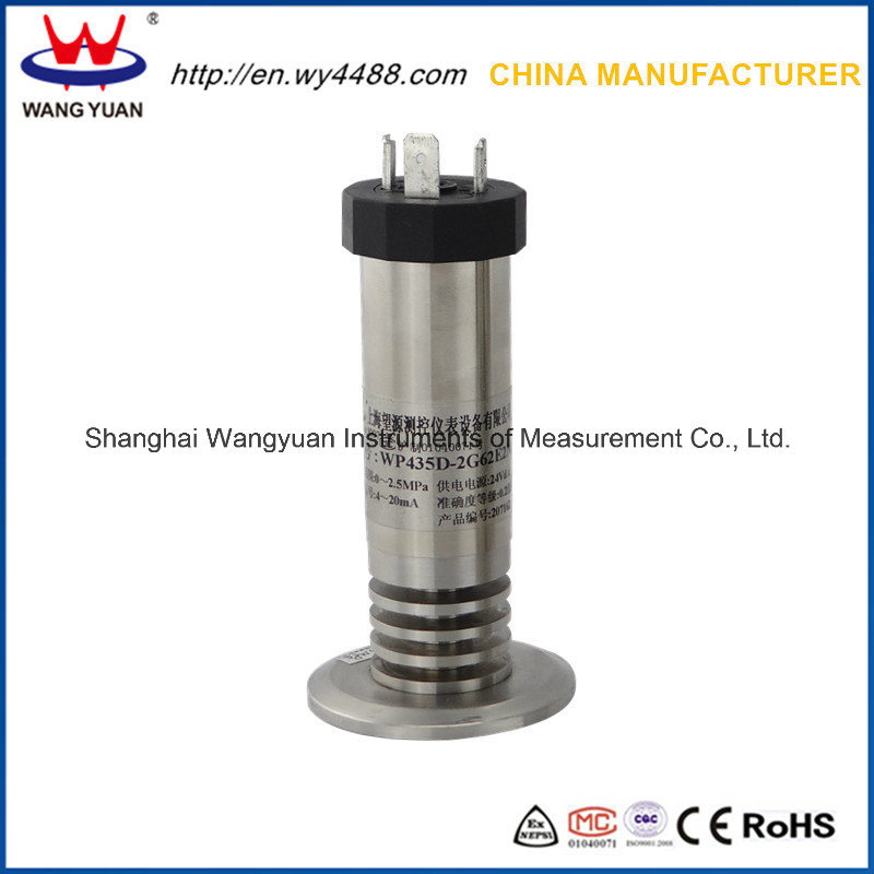 Non Cavity Paper Making Use Diaphragm 4-20mA Pressure Transmitter