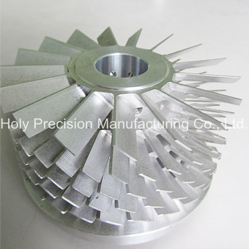 High Precision Aluminum Part by 4-Axis-Machining
