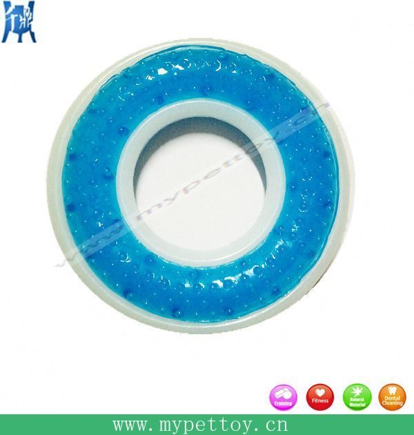 """Hot Selling 4""""in Nylon Ring Dog Toy Pet Product"""