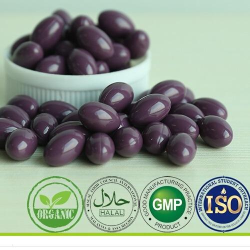 GMP Salt Alga Soft Capsule Supplement OEM