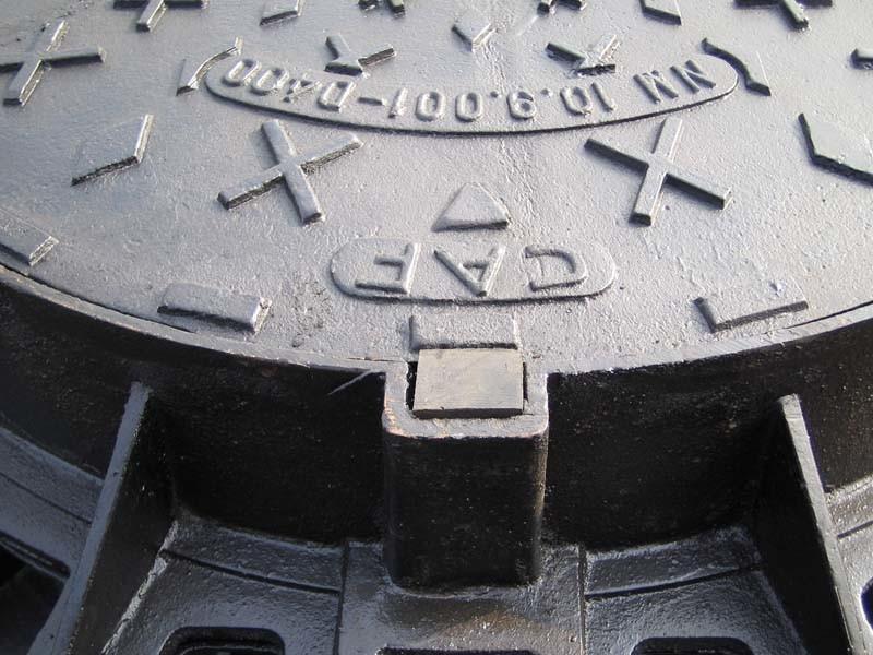 C250 D400 Ductile Iron Manhole Covers