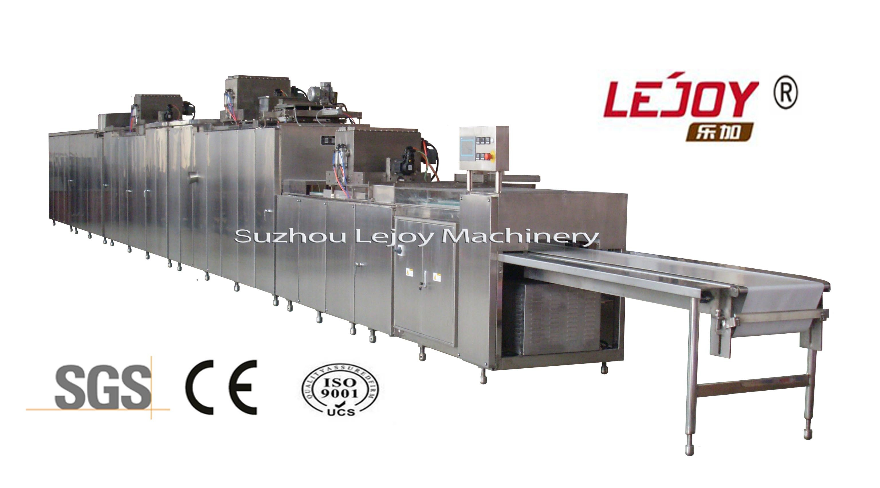 Big Central Chocolate Depositing and Moulding Line