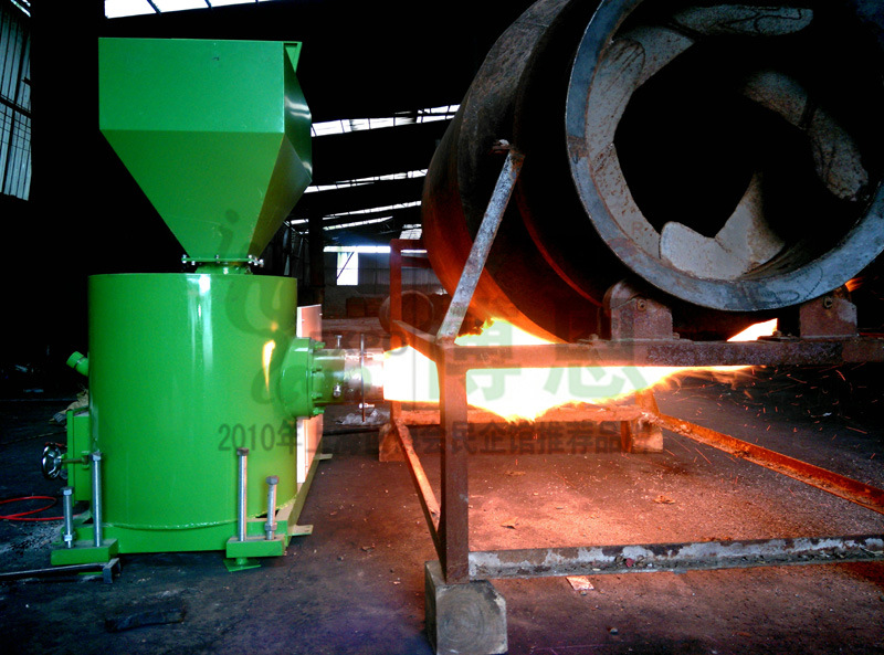 Wood Pellet Biomass Burner (air-cooled)