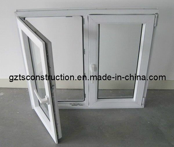Double Glazing Window Aluminium Casement Window with AS/NZS2208 Glass