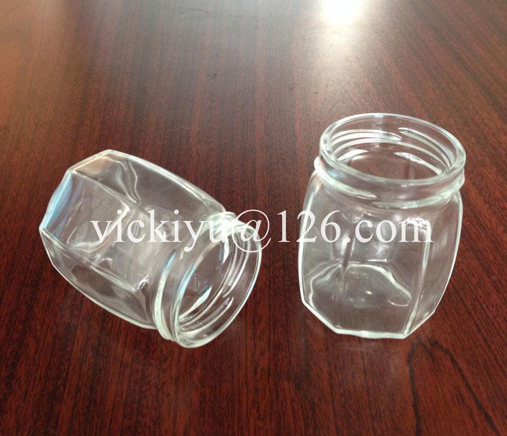 105ml Small Glass Honey Jar with Twist-off Top