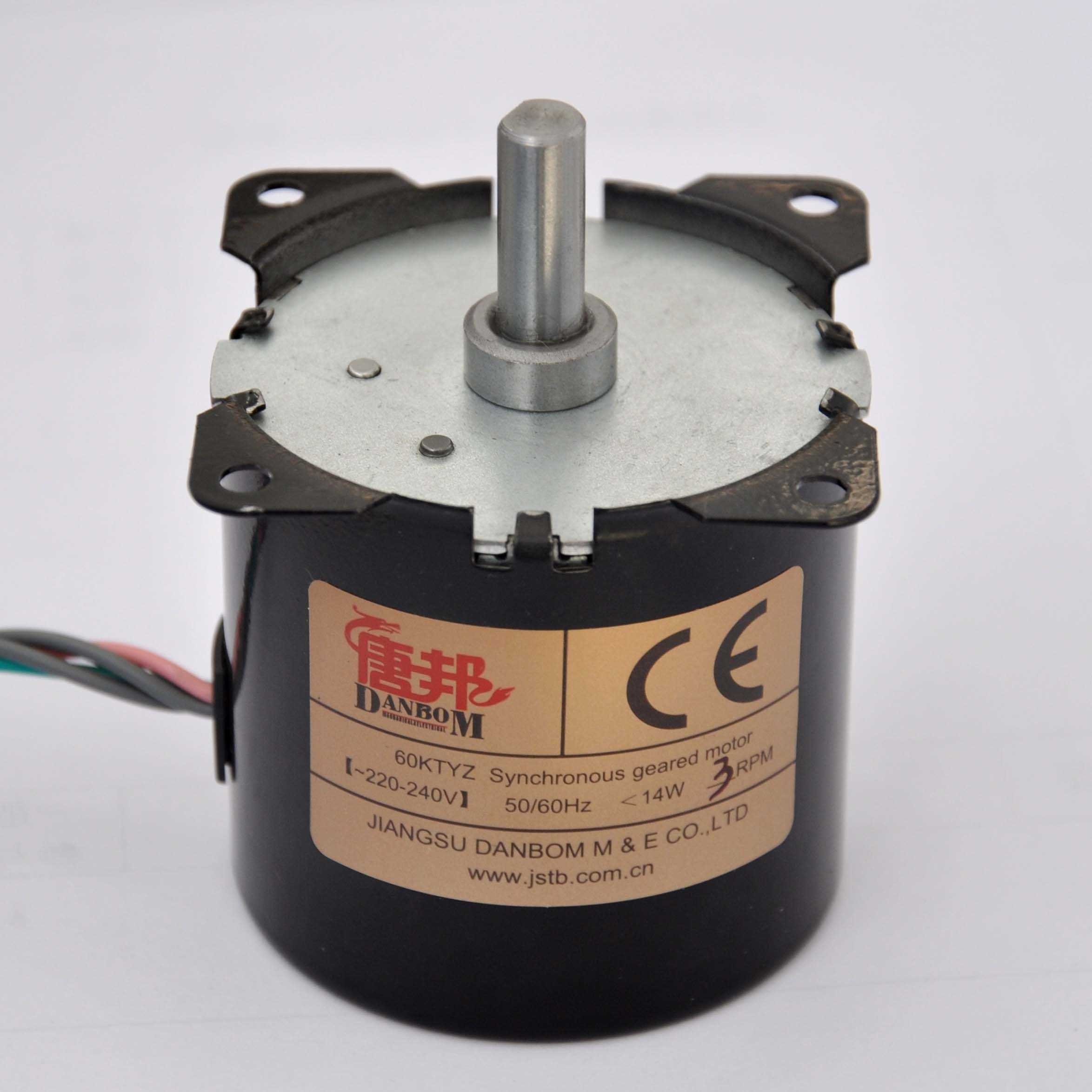 3 Rpm Single Phase Permanet Magnet Reversible Synchronous Gear Motor (KTYZ)