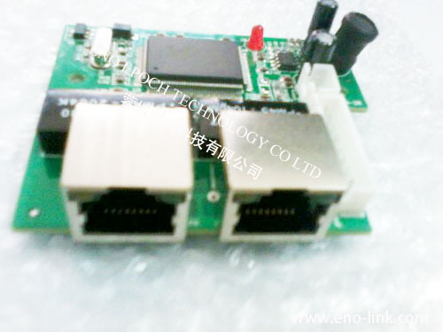 China n link mini 3 port 10 100mbps ethernet switch module unmanagd network switch pcb main - Mini switch ethernet 3 ports ...