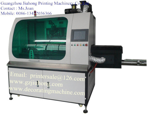 CNC Glass Bottle Screen Printing Machine