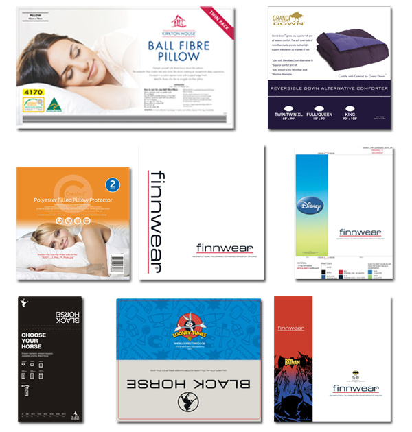 Catalogue for Company, magazine, Printed Hanging Label,