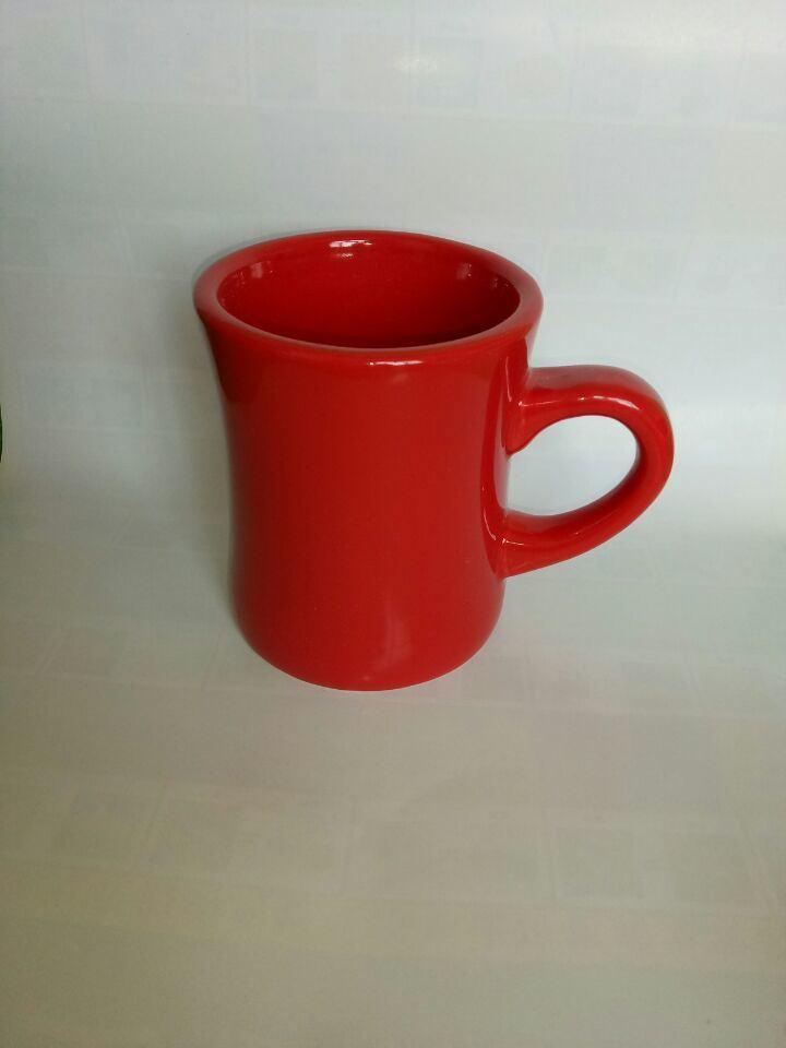 Color Glazed Ceramic Mug with High Quality
