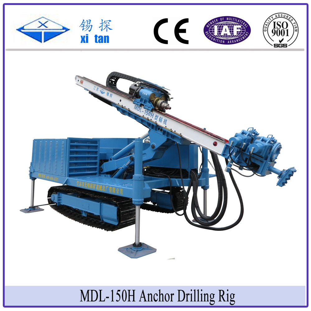 Xitan Mdl150h Foundation Anchor Drilling Rig Foundation Pile Drilling Machine Soil Nailing Water Well Drill Rig