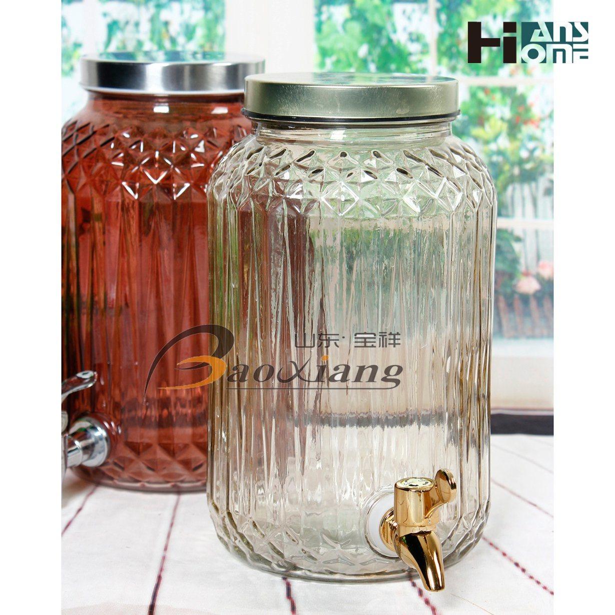 3L Wine Glass Bottle Glassware Glass Bottle