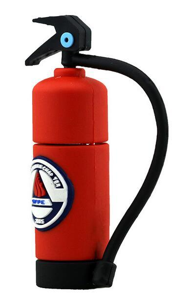 100% Real Capacity Pen Drive Fire Extinguisher USB Flash Drive, Flash Memory Stick Pendrive Gifts