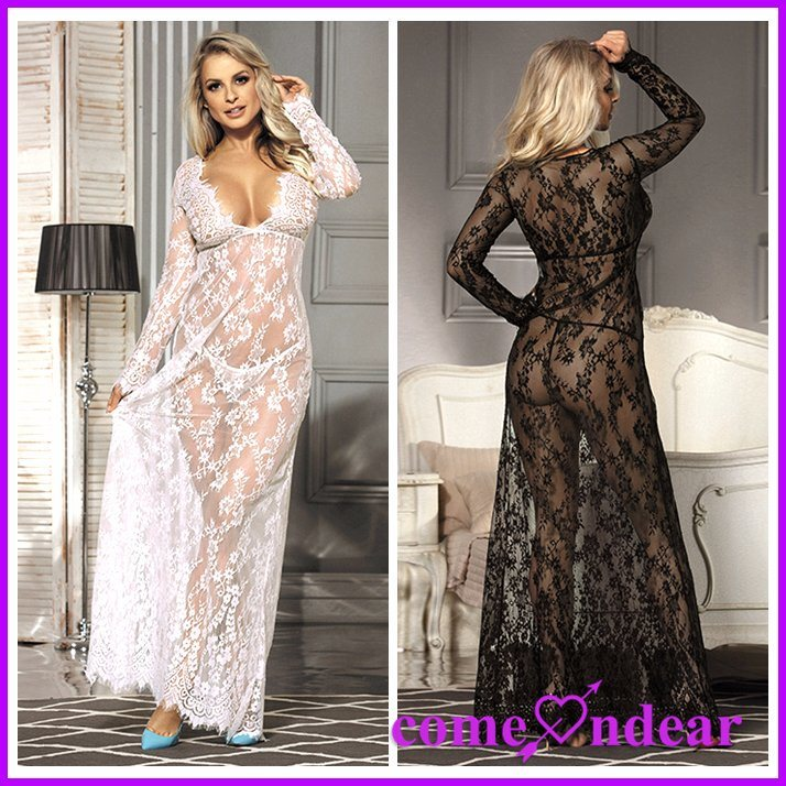 Two Color Four Size Lace Hot Ladies Sexy Nightwear