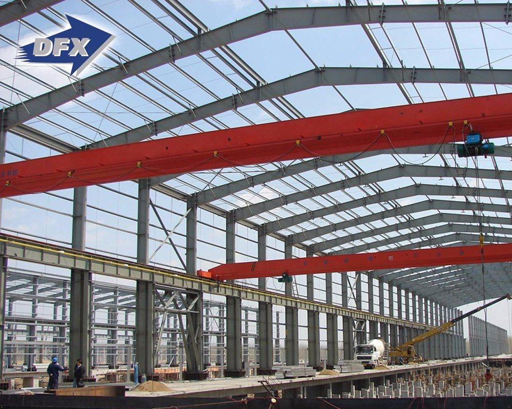 H Beam Prefabricated/Prefab Light Steel Frame/Structure Warehouse